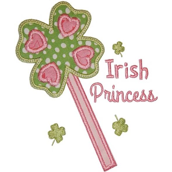Irish Princess 2 Machine Embroidery Design