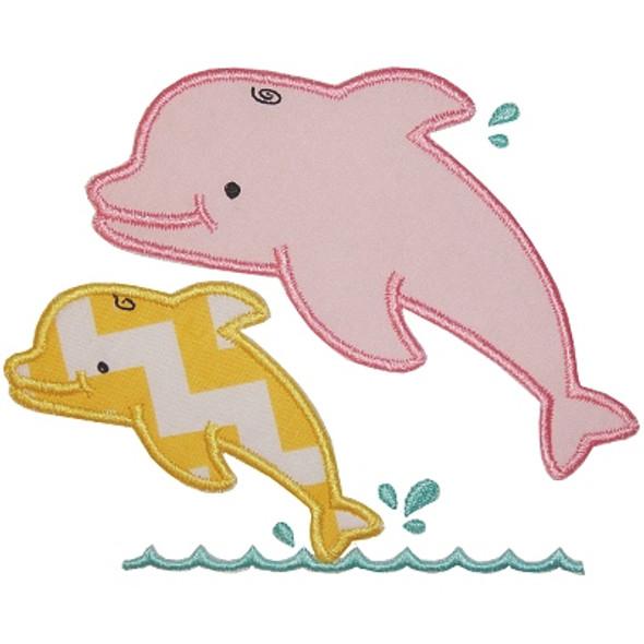 Dolphins Applique