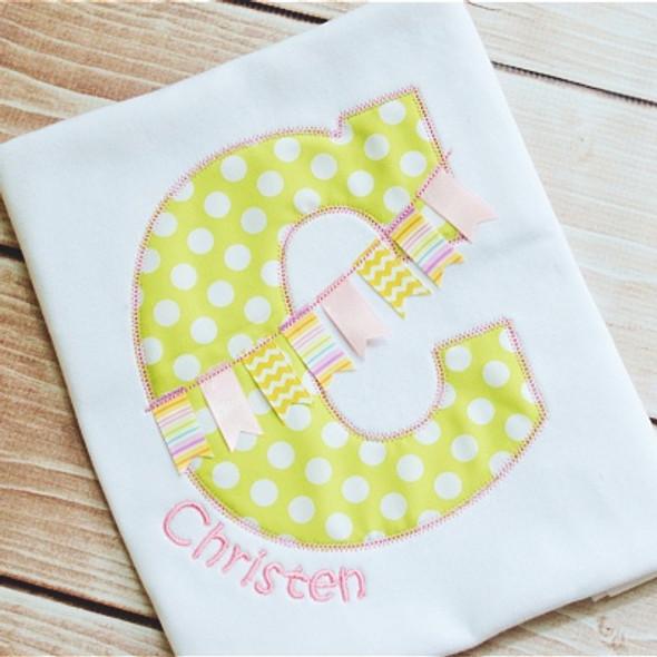 Banner Alpha Machine Embroidery Design
