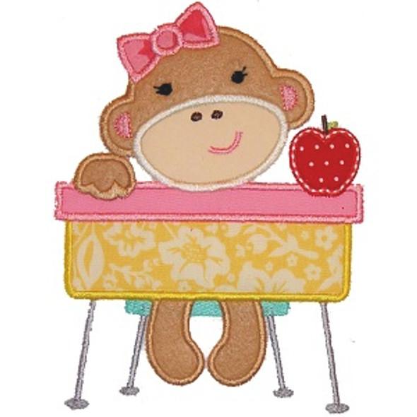 School Girl Monkey