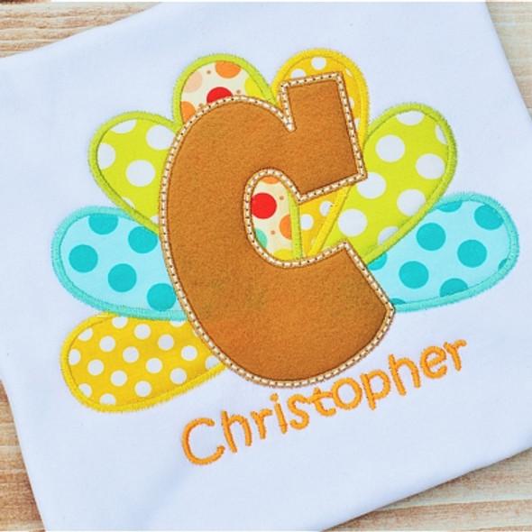 Turkey Alpha Machine Embroidery Design