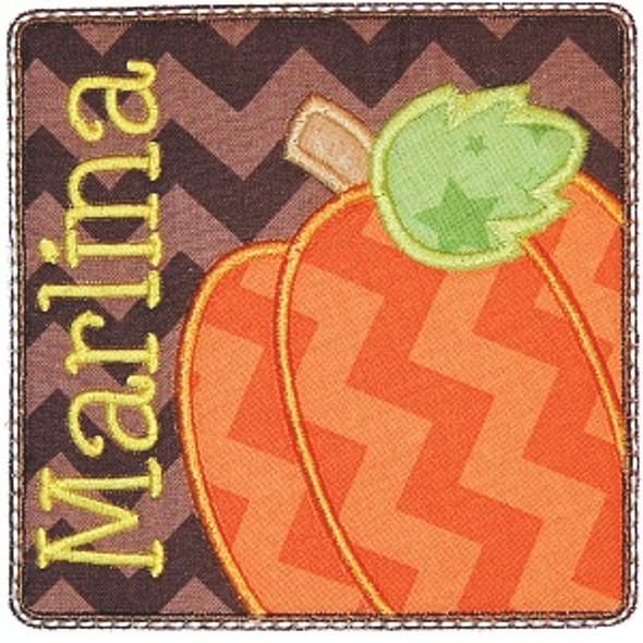 Pumpkin Patch 2 Machine Embroidery Design