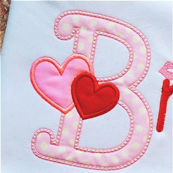 Valentine 3 Alpha Machine Embroidery Design