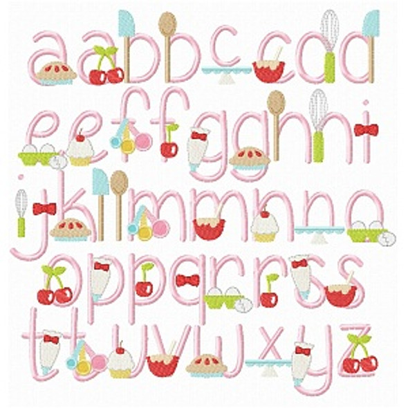 Very Cherry Baker Font