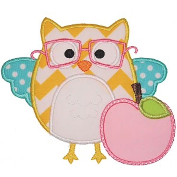 Owl and Apple