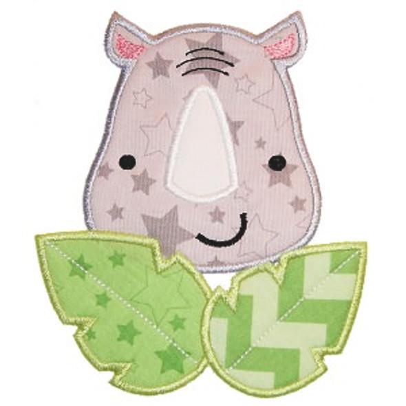 Safari Rhino Applique