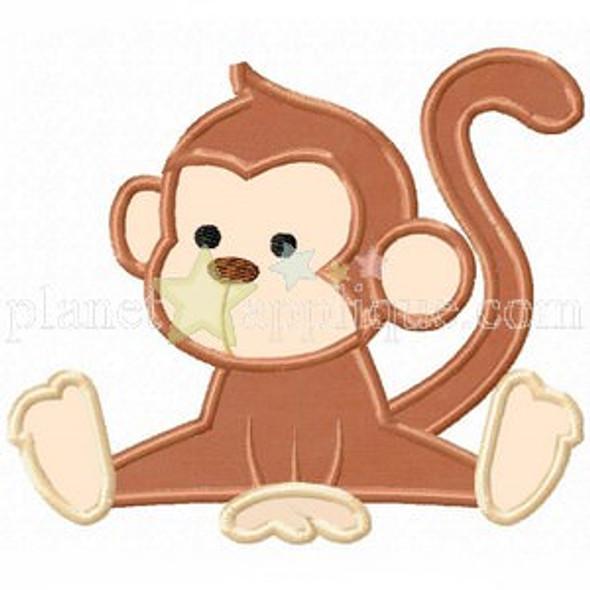 Baby Monkey Applique