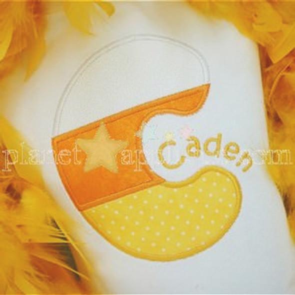Candy Corn 2 Alpha Machine Embroidery Design