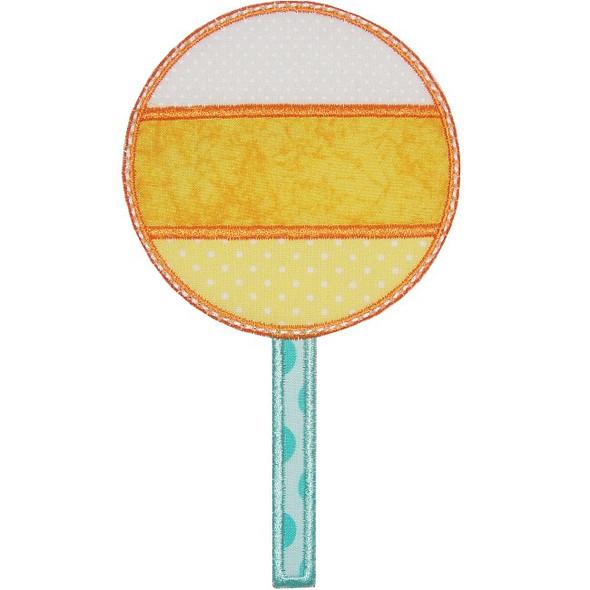 Candy Corn Lollipop Machine Embroidery Design