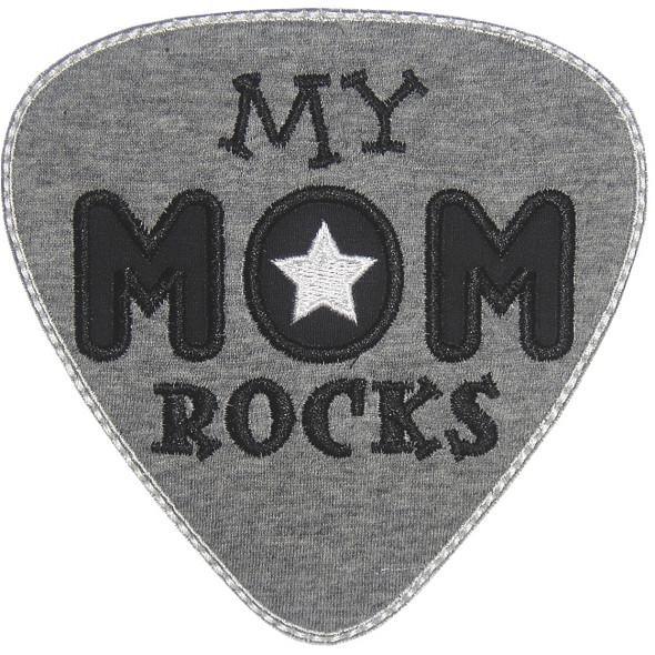 My Mom Rocks Machine Embroidery Design