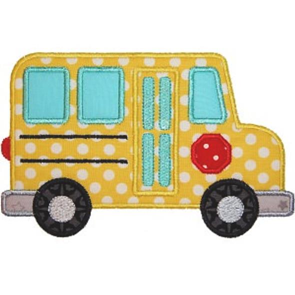 School Bus 2 Applique