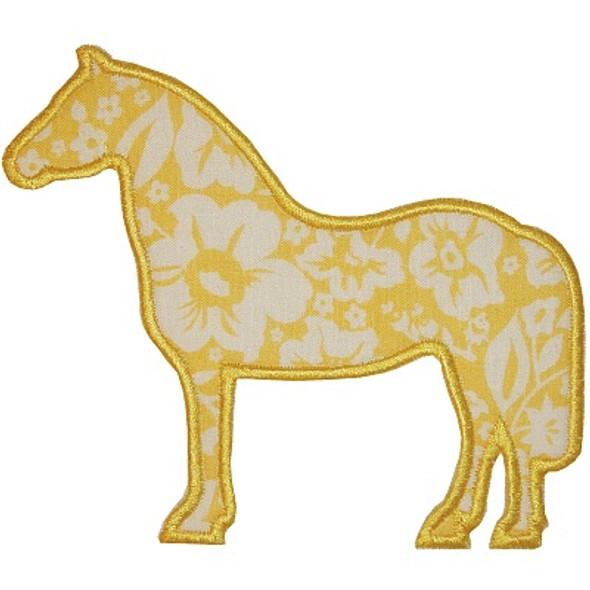 Simple Horse Applique