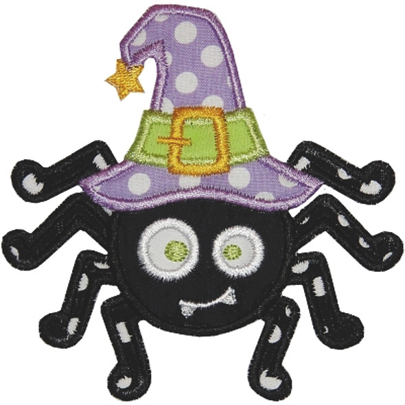 Witchy Spider Machine Embroidery Design