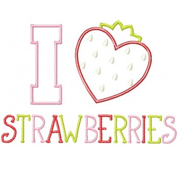 I Heart Strawberries