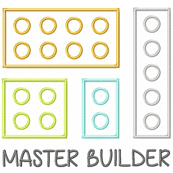 Master Builder Applique