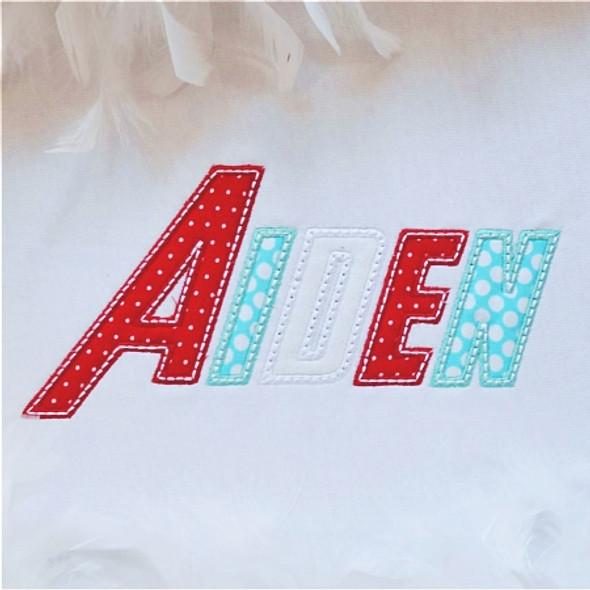 Hero Mini Alpha Machine Embroidery Design