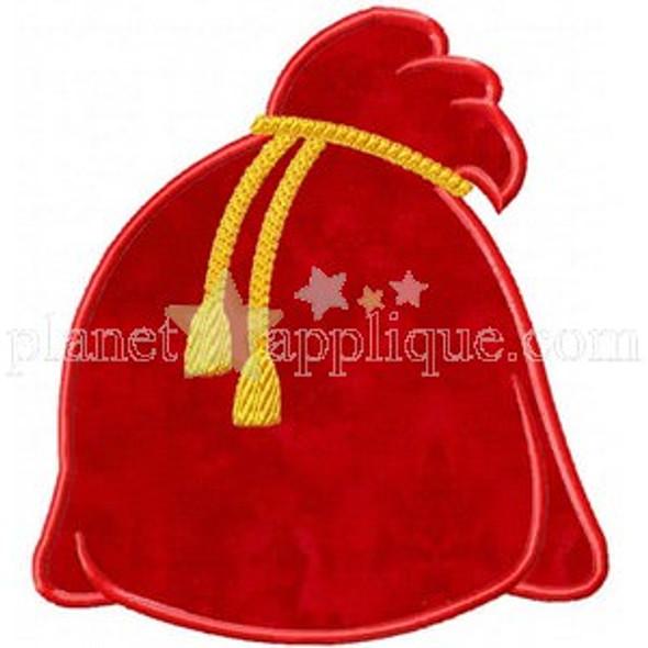 Santas Bag Machine Embroidery Design