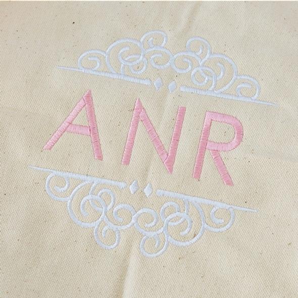 Wedding Scroll Monogram Font