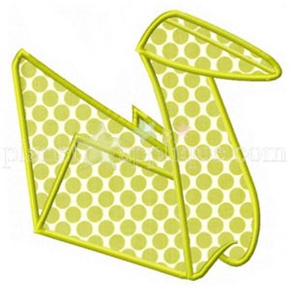 Origami Applique Machine Embroidery Design