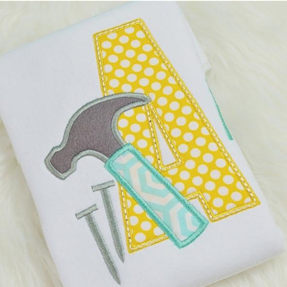 Hammer Alpha Machine Embroidery Design