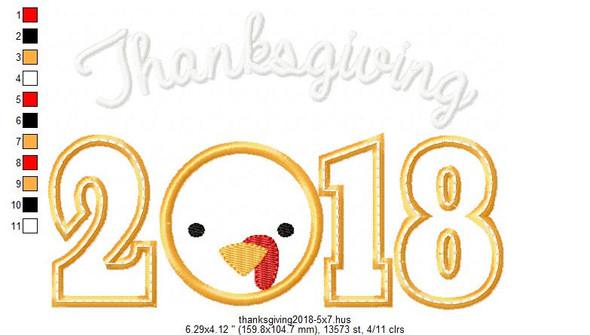 Thanksgiving 2017-2021