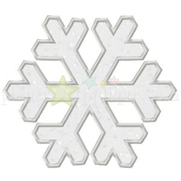 Snowflake Applique