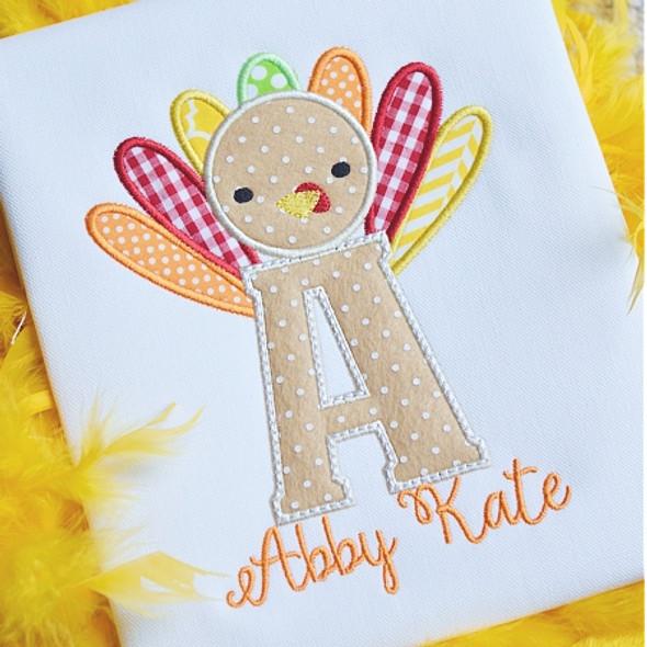 Turkey 3 Alphabet Machine Embroidery Design