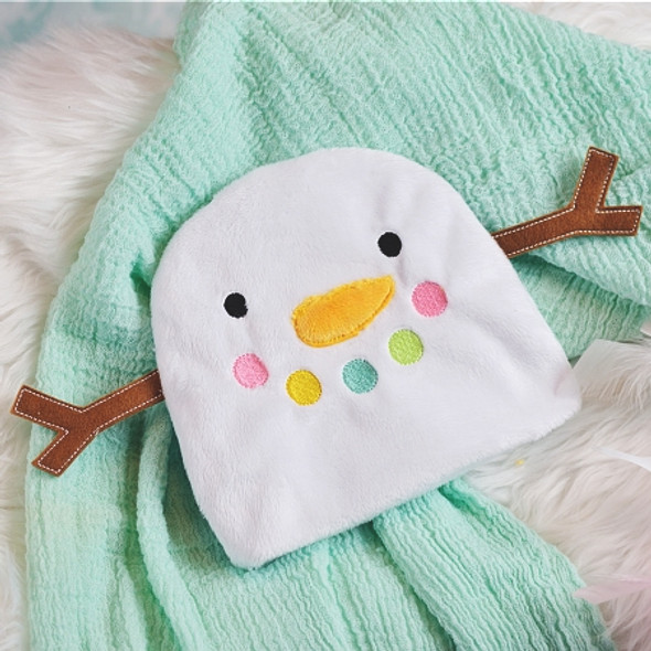 ITH Snowman Baby Beanie Machine Embroidery Design