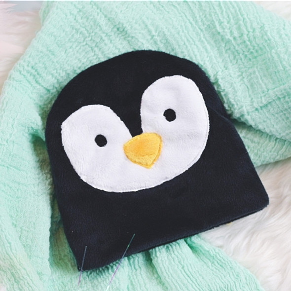 ITH Penguin Baby Beanie Machine Embroidery Design