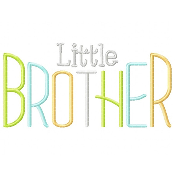 Simple Brother Set Machine Embroidery Design