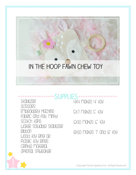 ITH Fawn Chew Toy