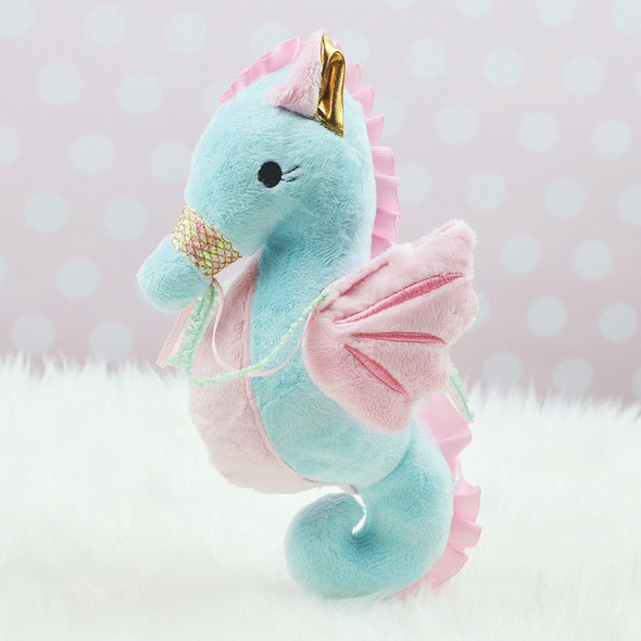 In the Hoop Sophie Seahorse Plush Machine Embroidery Design