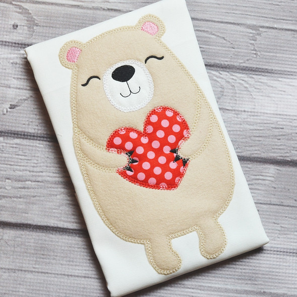 Beary Sweet Vintage and Chain Stitch Machine Embroidery Design