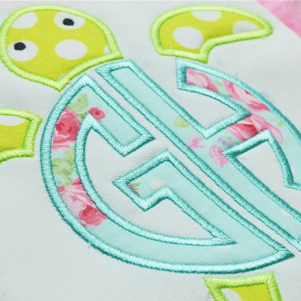 Sea Turtle Monogram Alpha