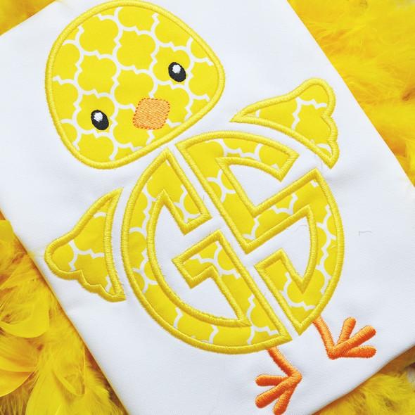 Boy Chick Monogram Alpha