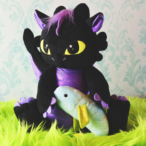 In the Hoop Draco Dragon Plush