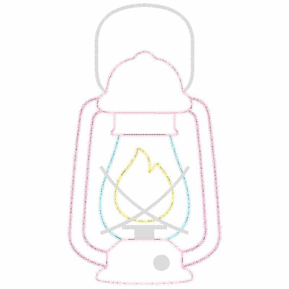 Lantern Chain and Vintage Applique