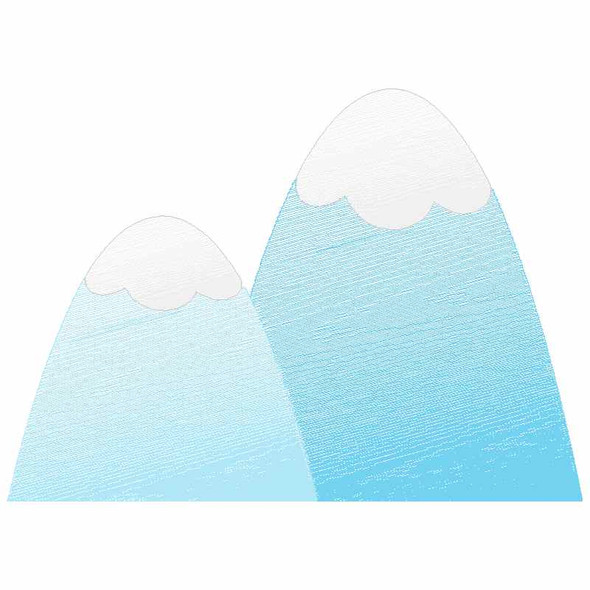 Mountains Sketch Applique