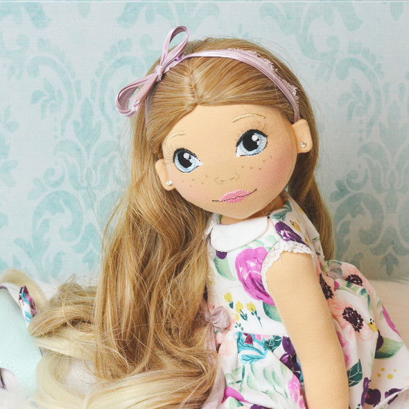 In the Hoop Holly 18inch Doll