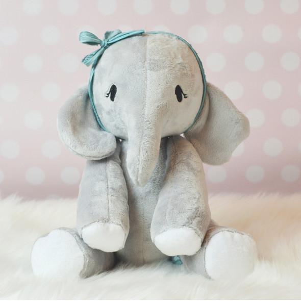 In the Hoop Evangeline Elephant Machine Embroidery Design