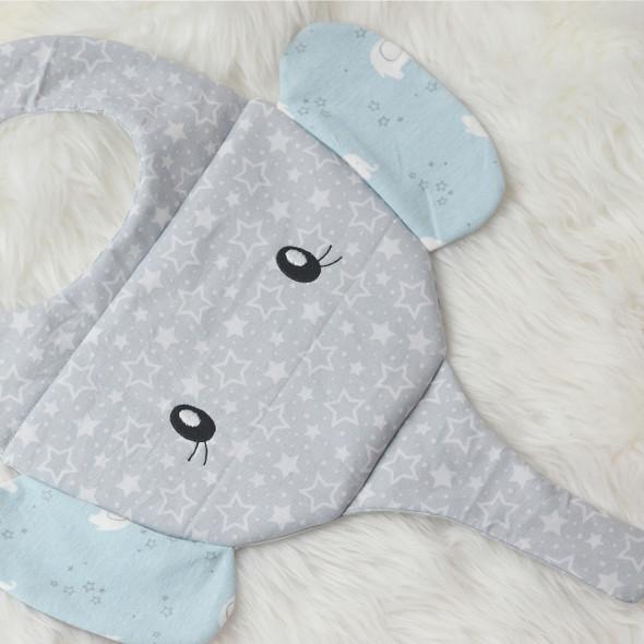 ITH Elephant Baby Bib