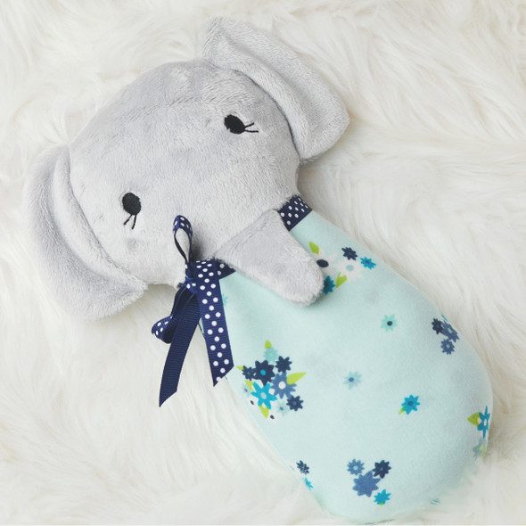 ITH Baby Elephant Plush Machine Embroidery Design