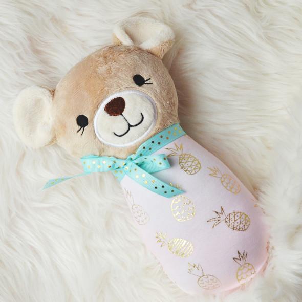 ITH Baby Teddy Plush Machine Embroidery Design