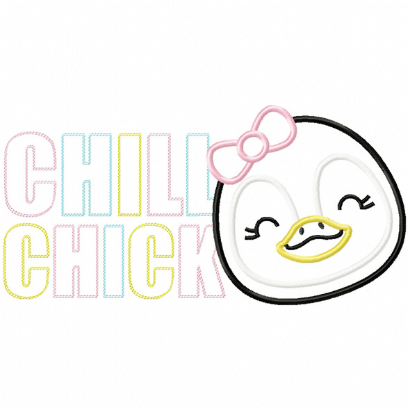 Chill Chick Satin and Zig Zag