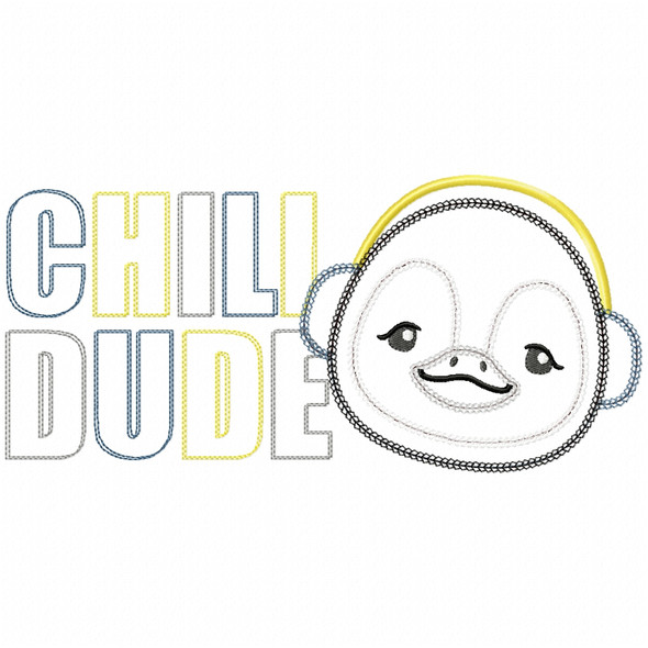 Chill Dude Vintage and Chain Stitch