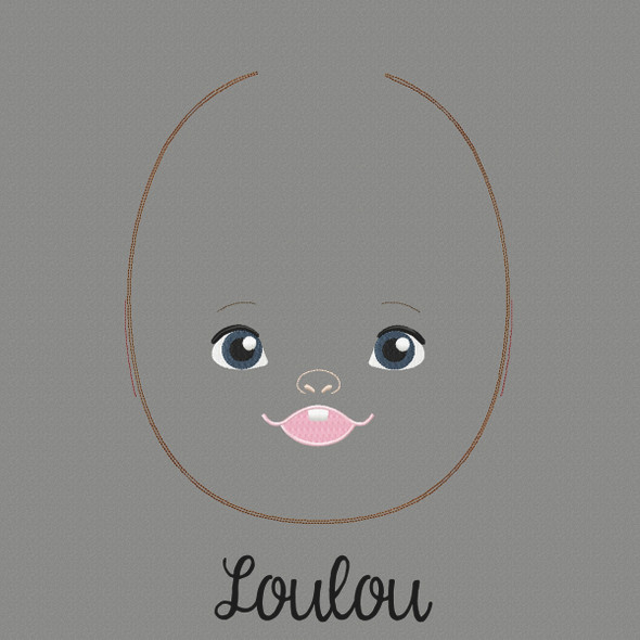 Lou Lou Doll Faces Addon