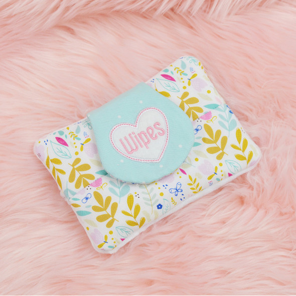 In the Hoop Baby Wipes Case and Wipes