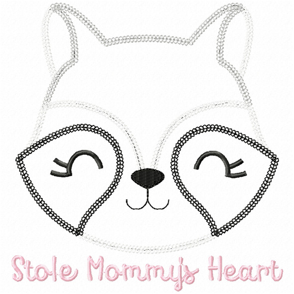Stole Mommys Heart Vintage and Chain Applique