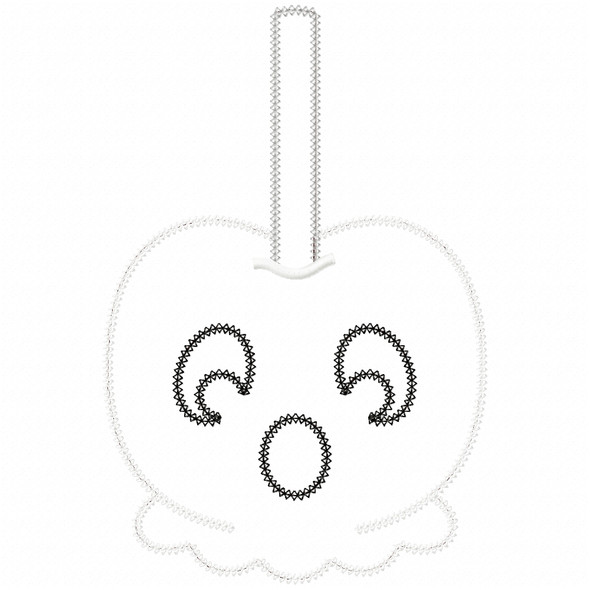 Ghost Candy Apple Vintage and Chain Applique