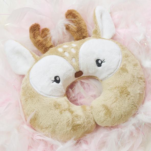 In the Hoop Baby Deer Pillow Machine Embroidery Design